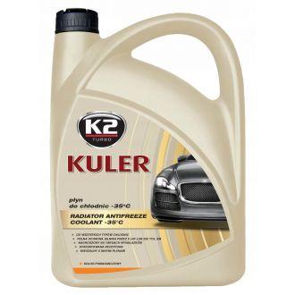 KULER -35C 5L POMARAŃCZOWY płyn do chłodnic, 5lat - 150tys. Km - 5L