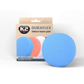 DURAFLEX  - niebieska gąbka polerska na rzep gąbka mocnościerna, super trwarda - szt