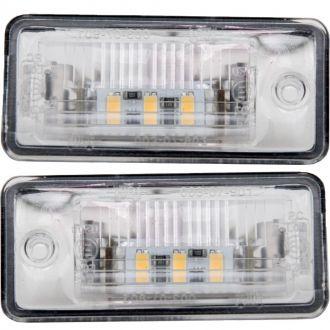 LAMPKI TABLICY LED AUDI A3 A4 B6 A5 A6 '01-'17 KPL