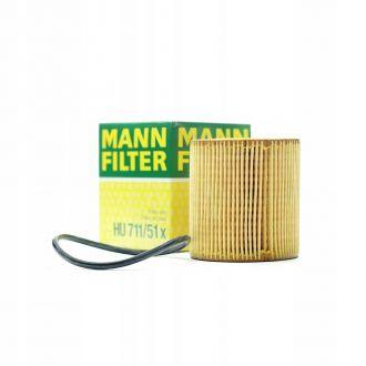 FILTR OLEJU MANN-FILTER HU711/51X