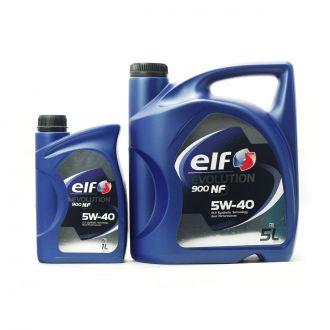 OLEJ ELF 5W-40 EVOLUTION 900 NF 6L