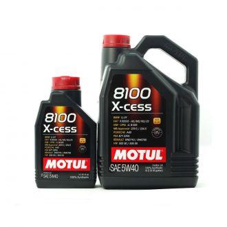 MOTUL 8100 X-cess 5W40  A3/B4 VW  502.00/505.00, BMW LL-01, MB229.5 - 6L
