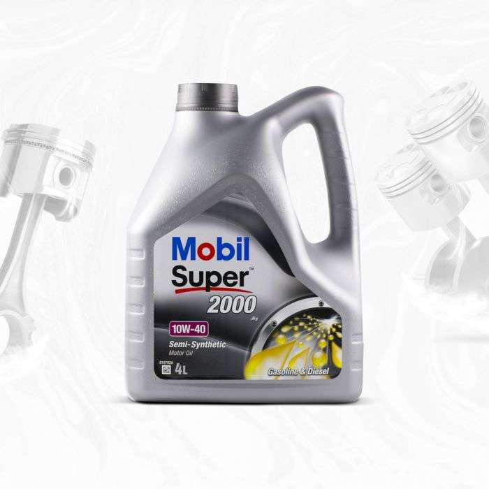 MOBIL SUPER 2000 X1 10W40 SL/CF, A3/B3, VW 501.01/505.00, MB229.1 - 4L